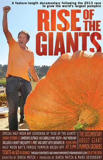 Rise of the Giants documentary movie screening poster