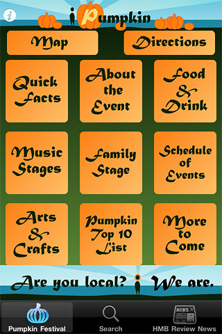 Half Moon Bay Art & Pumpkin Festival App