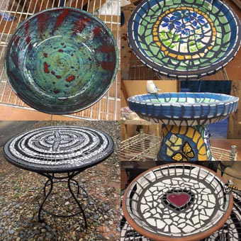 Diane Centoni pottery and mosaics