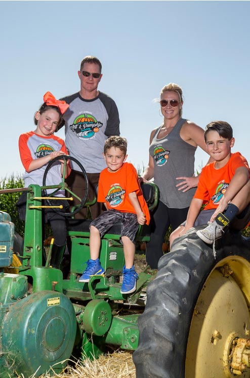 2017 Pumpkin Festival apparel for the whole family