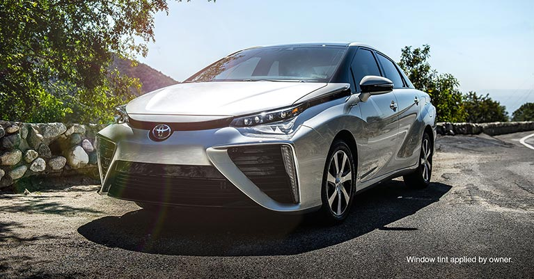 2016 Toyota Mirai hydrogen fuel cell vehicle