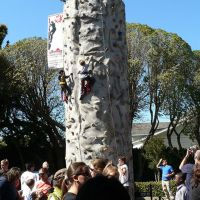Mobile Rock's climbing wall