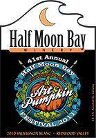Half Moon Bay Winery 2011 Pumpkin Festival label