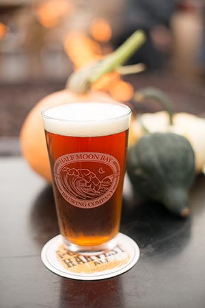 Pumpkin Harves Ale in a glass