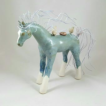 Michelle Mackenzie ceramic sculpture