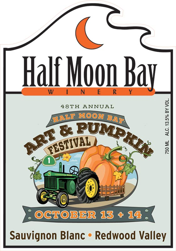 2018 Festival Wine Label