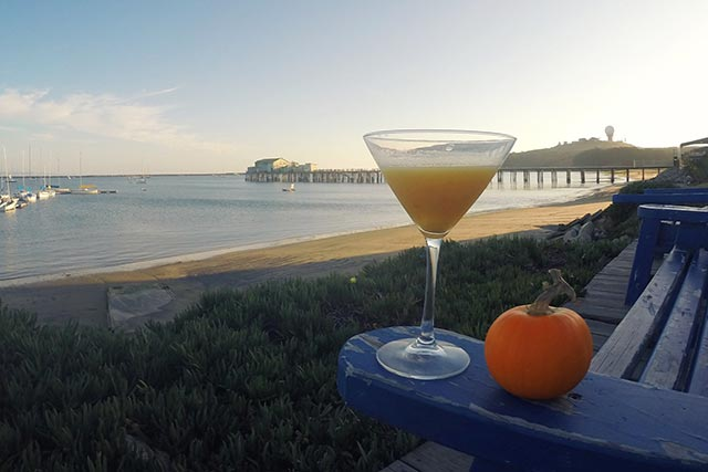 Jack-O-Tini pumpkin cocktail by Half Moon Bay Distillery
