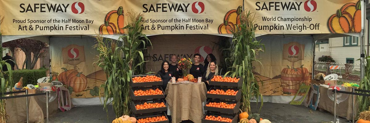 Safeway, Proud Presenting Sponsor of the Pumpkin Festival Since 1990