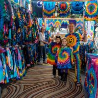 Tie dye booth